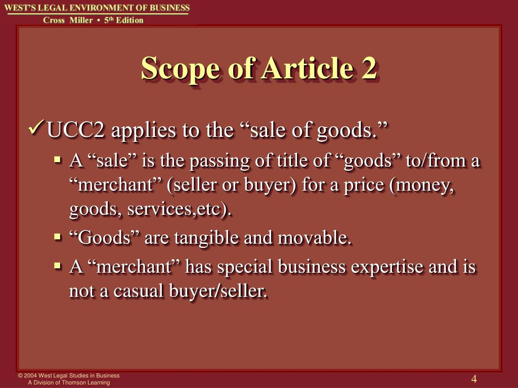 Scope of Article 2