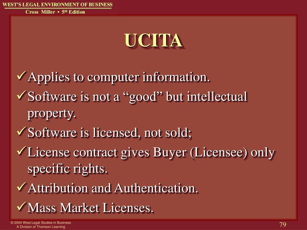 UCITA