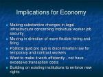 implications for economy16