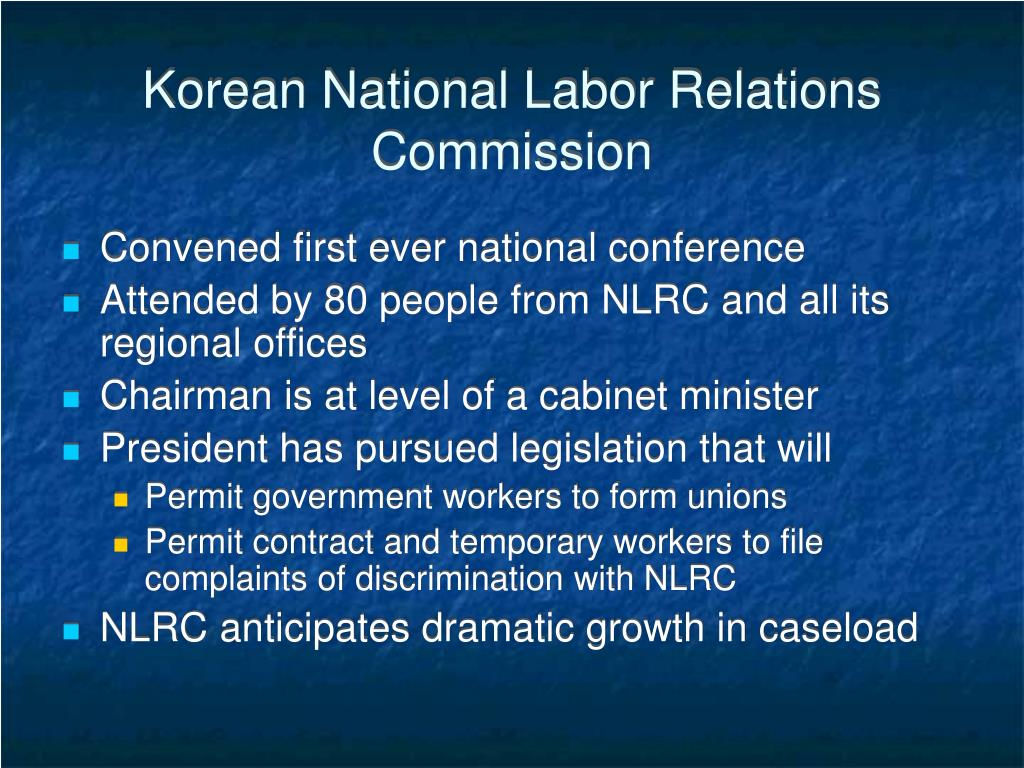 Korean National Labor Relations Commission