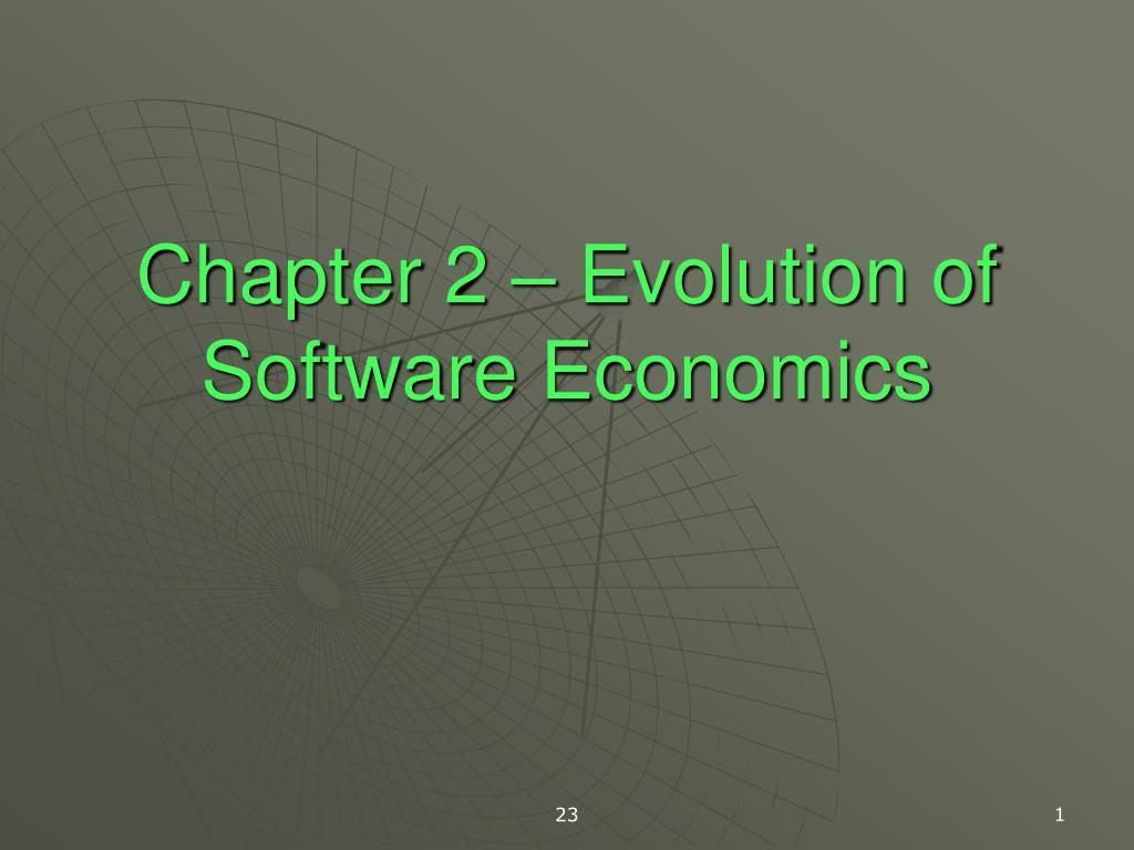 chapter 2 evolution of software economics