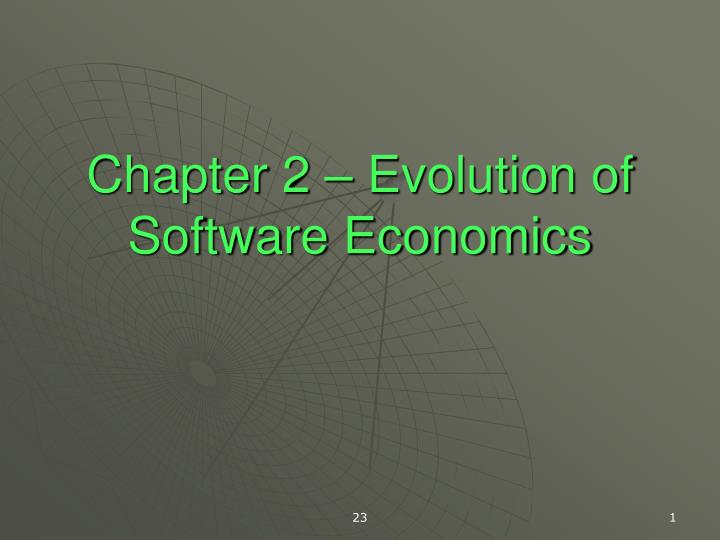 Chapter 2 evolution of software economics l.jpg