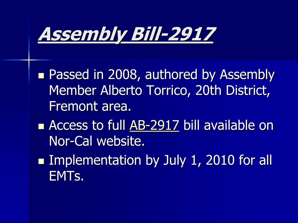Assembly Bill-2917