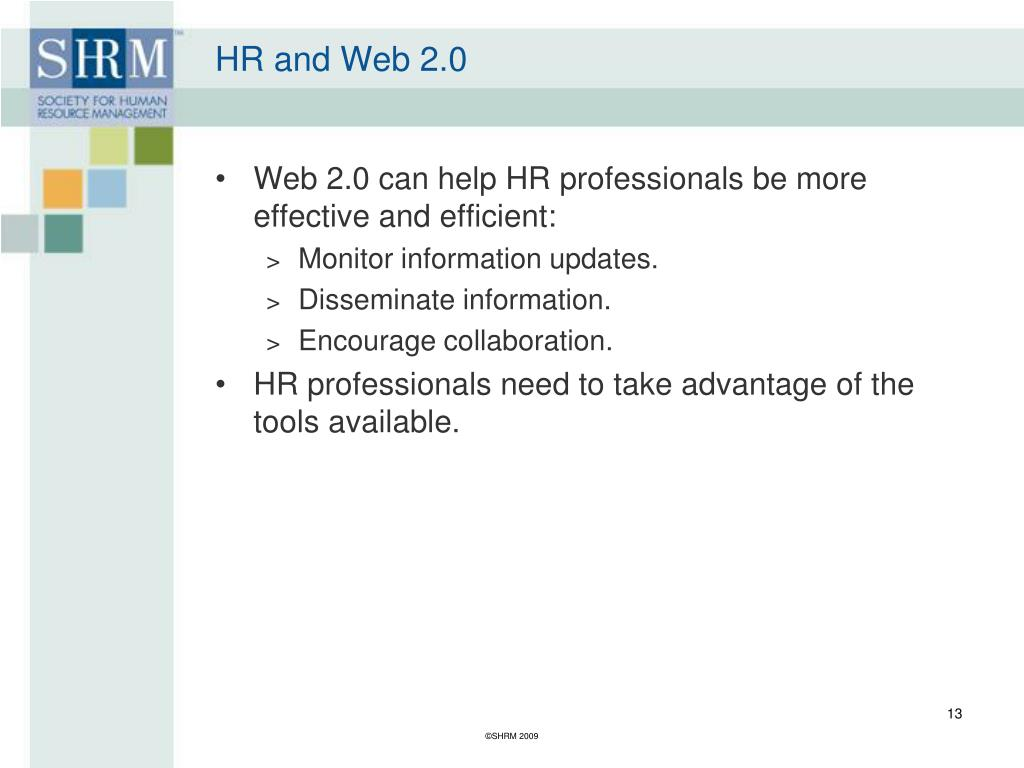 HR and Web 2.0