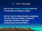 1 1 ash concept