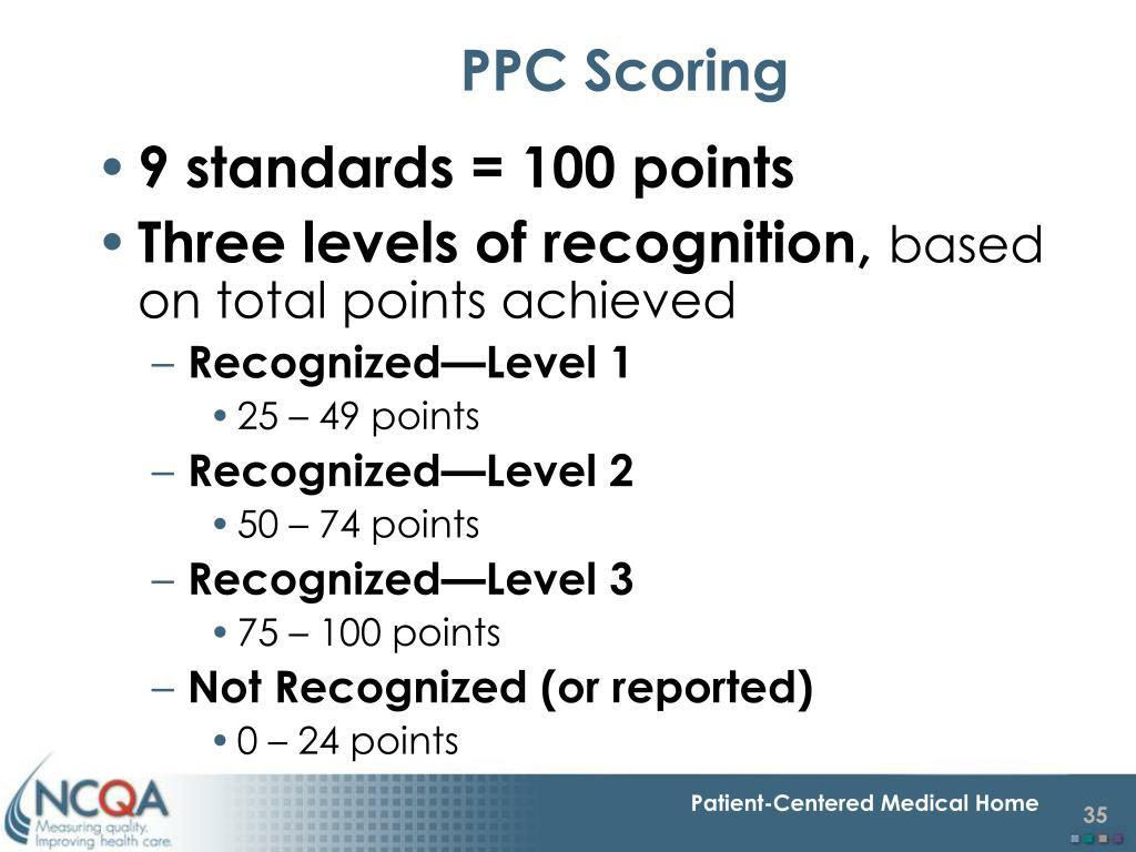 PPC Scoring