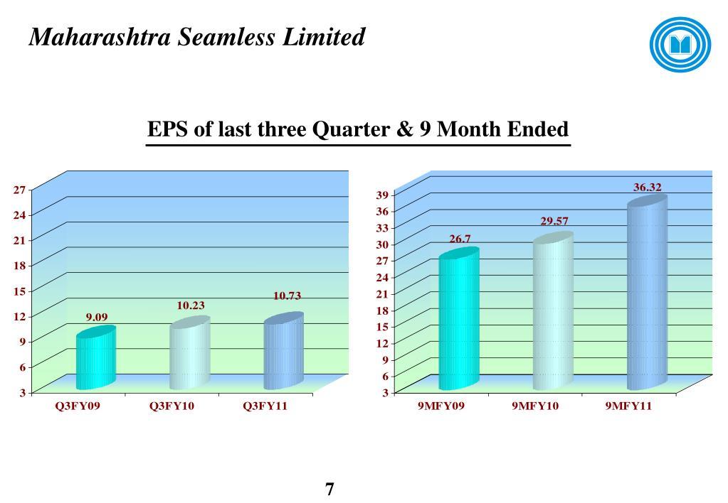 Maharashtra Seamless Limited