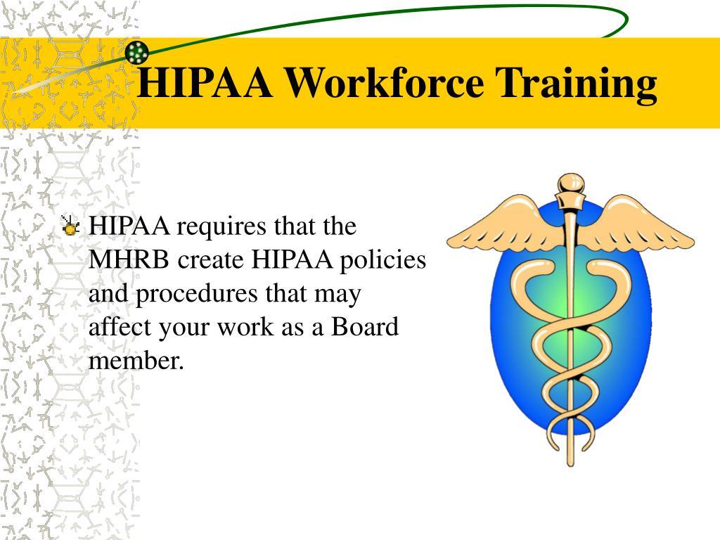 HIPAA Workforce Training