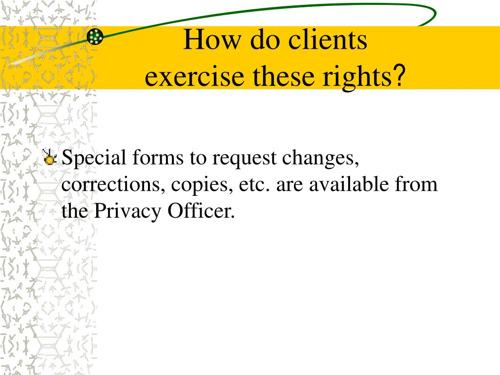 How do clients