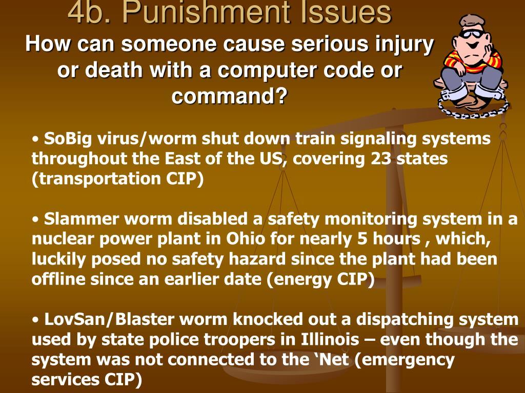 4b. Punishment Issues