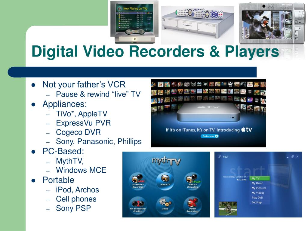 Digital Video Recorders & Players