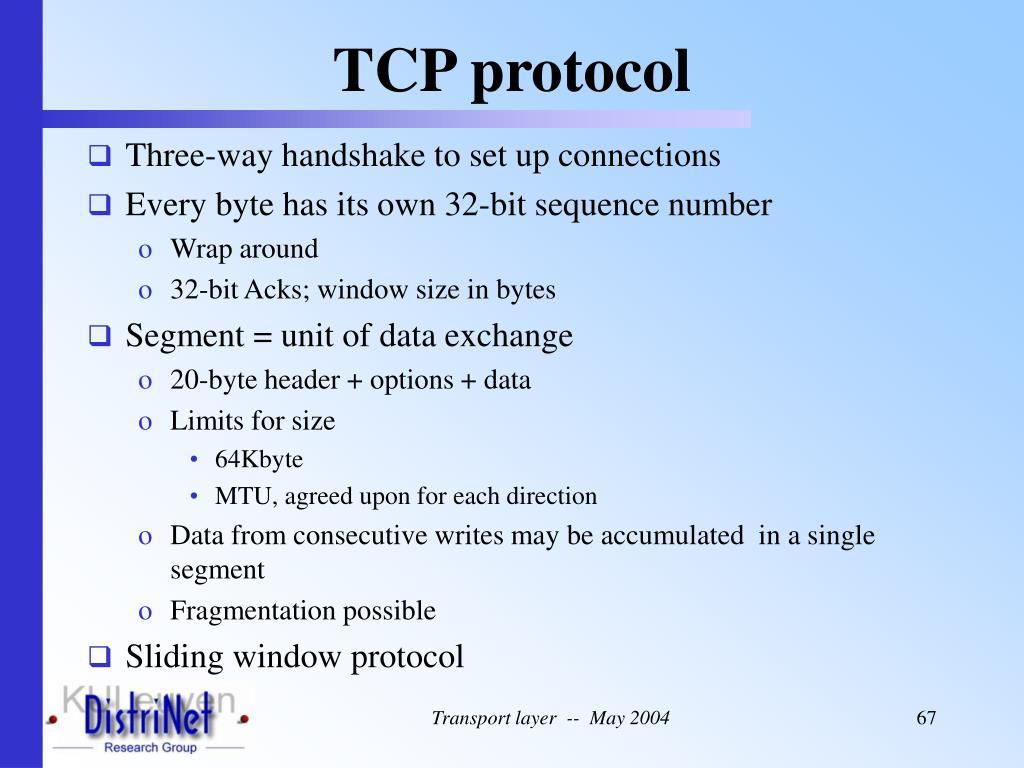 TCP protocol