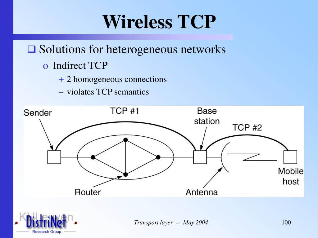 Wireless TCP