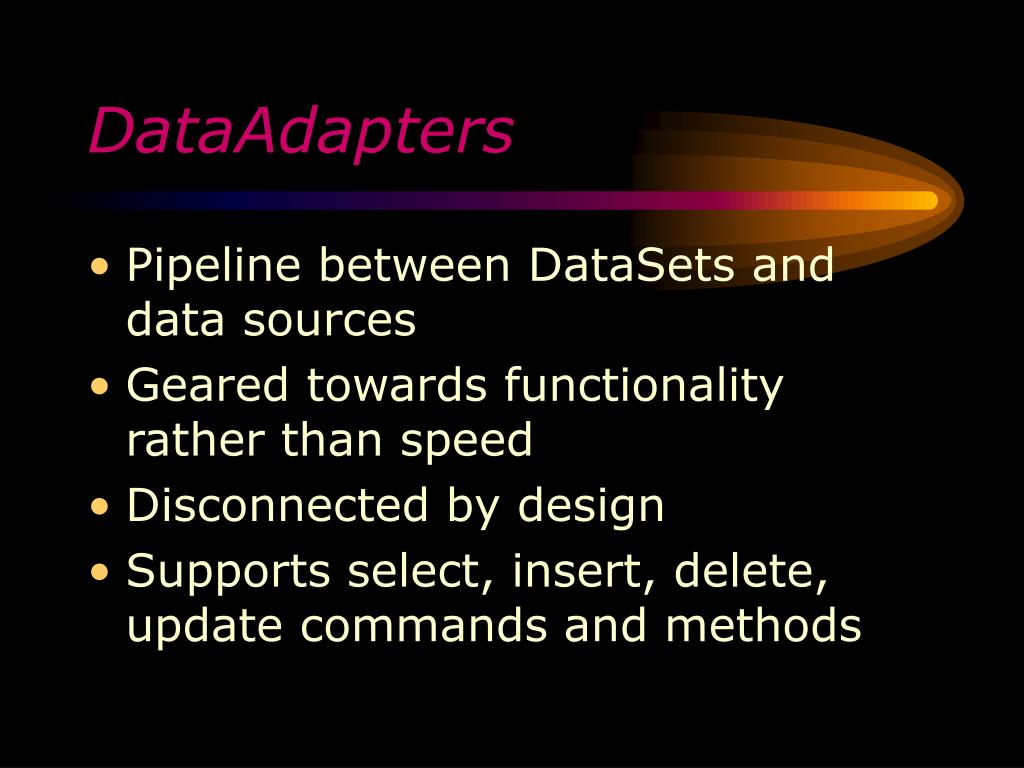 DataAdapters