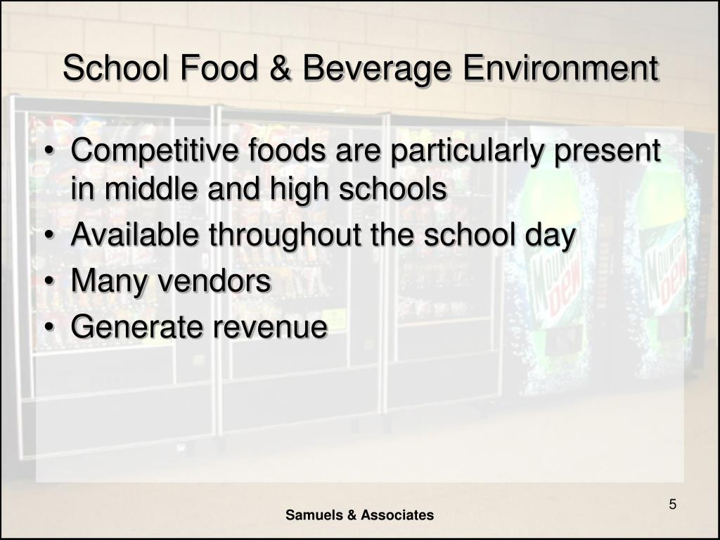 School Food & Beverage Environment