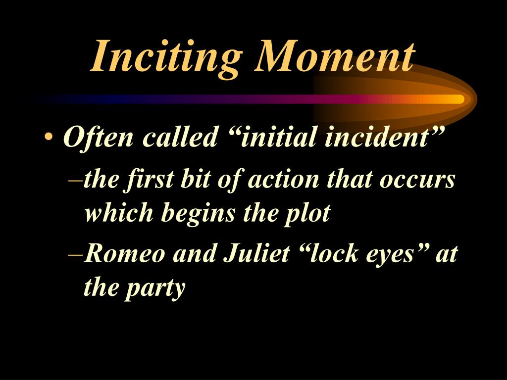Inciting Moment