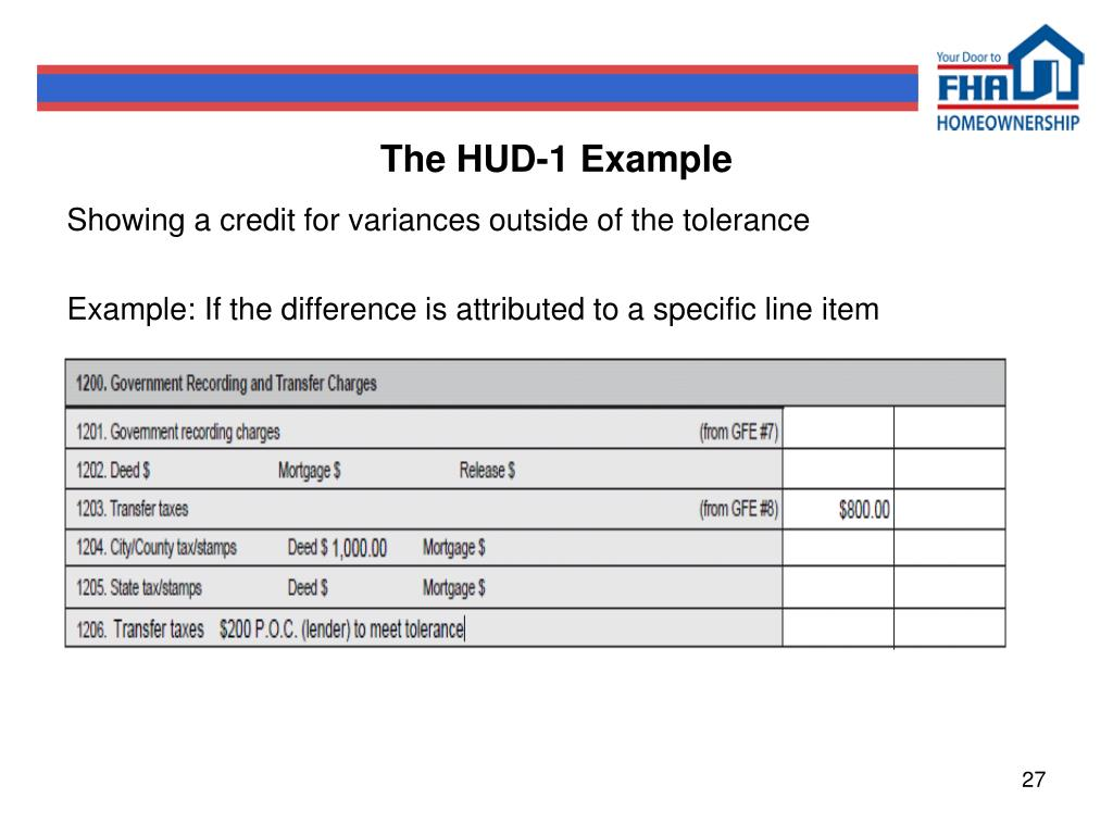 The HUD-1 Example