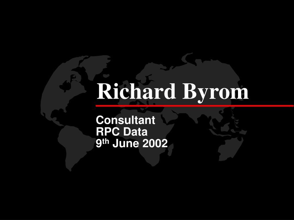 Richard Byrom