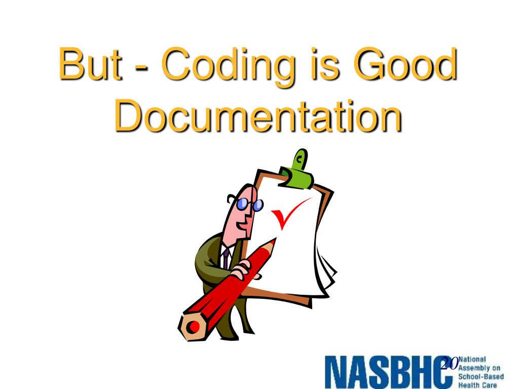 But - Coding is Good Documentation