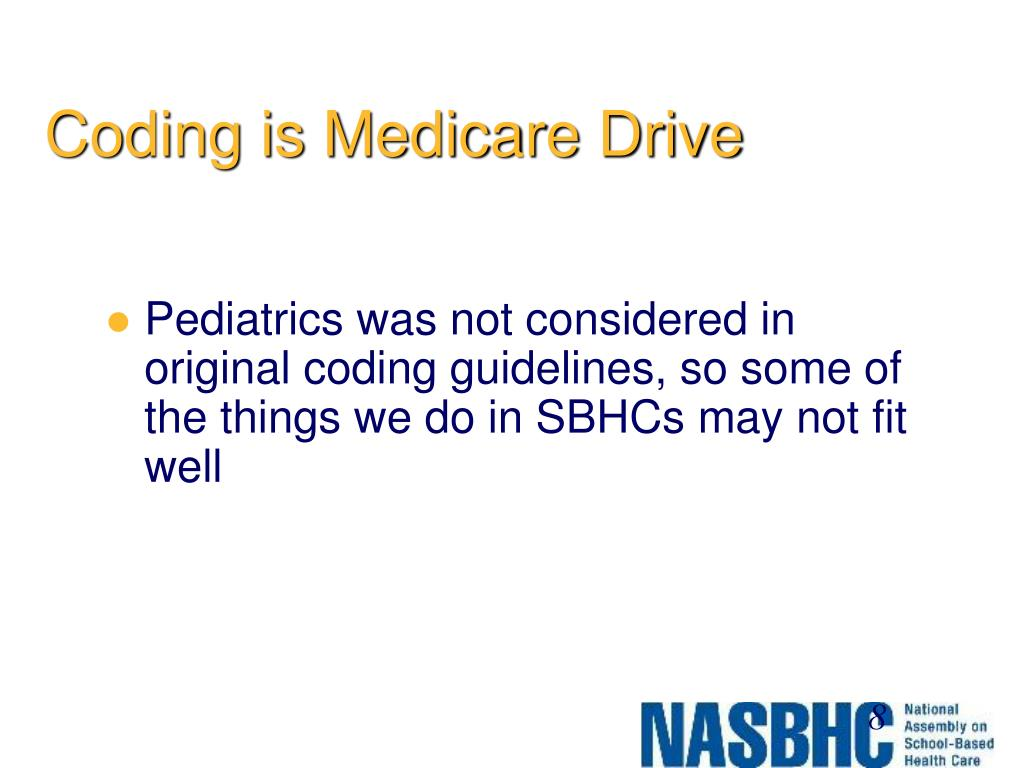Coding is Medicare Drive