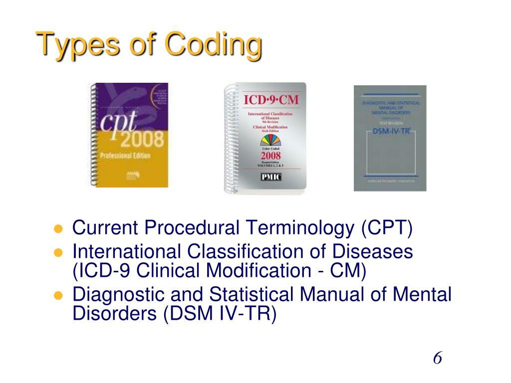 Types of Coding