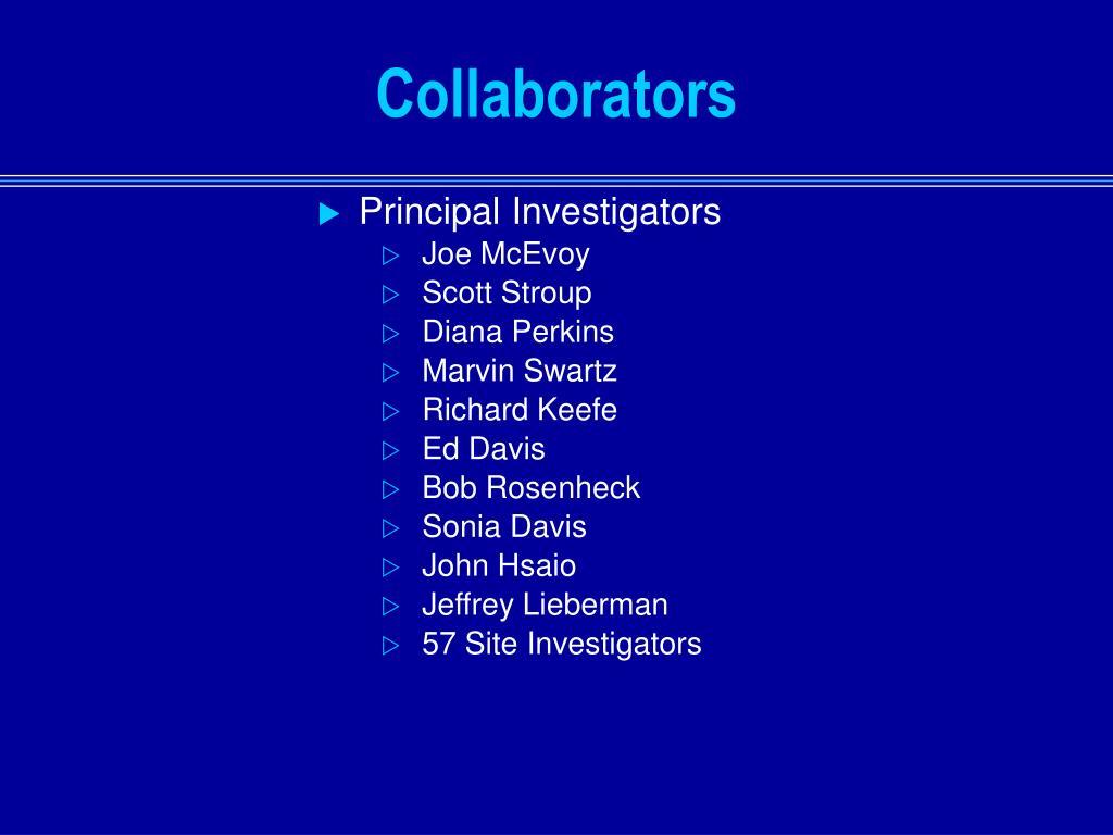 Principal Investigators