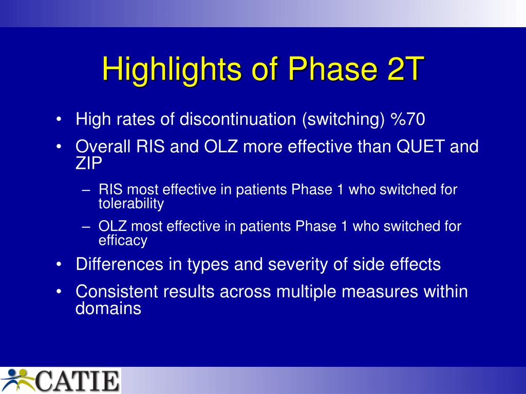 Highlights of Phase 2T