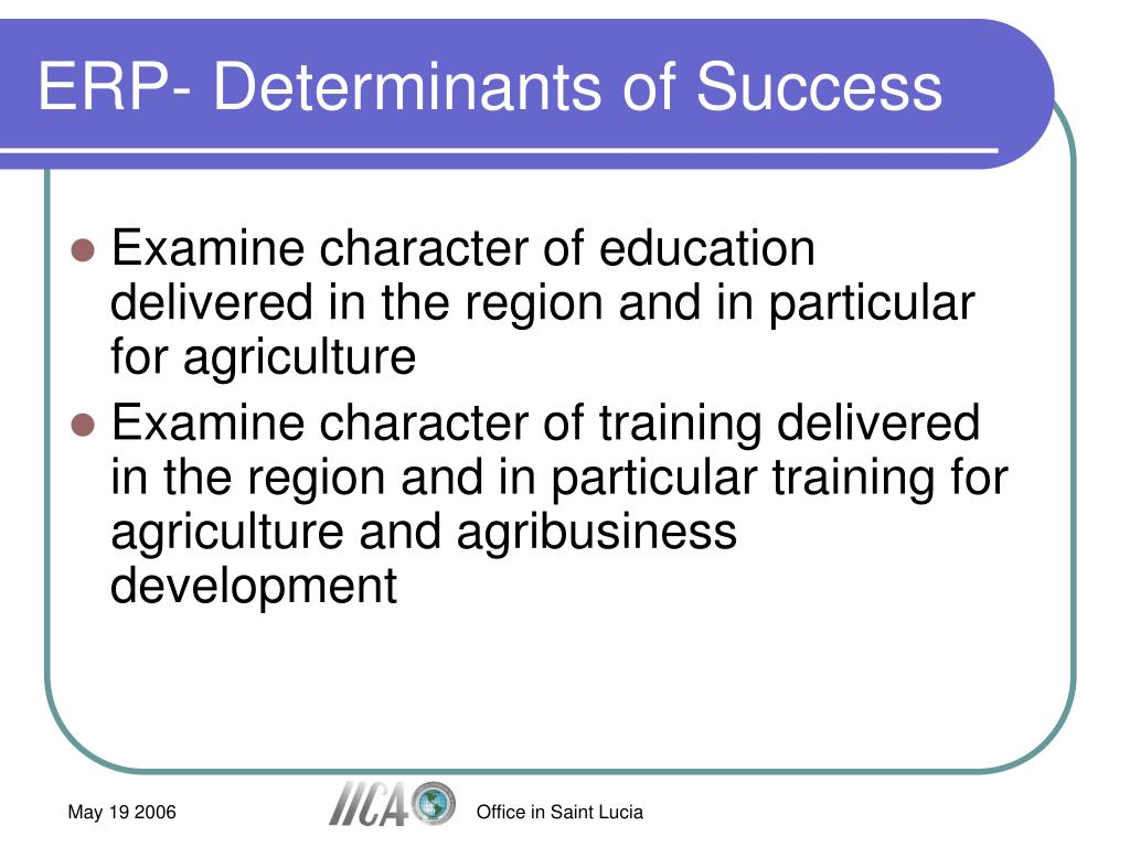 Examine character of education delivered in the region and in particular for agriculture