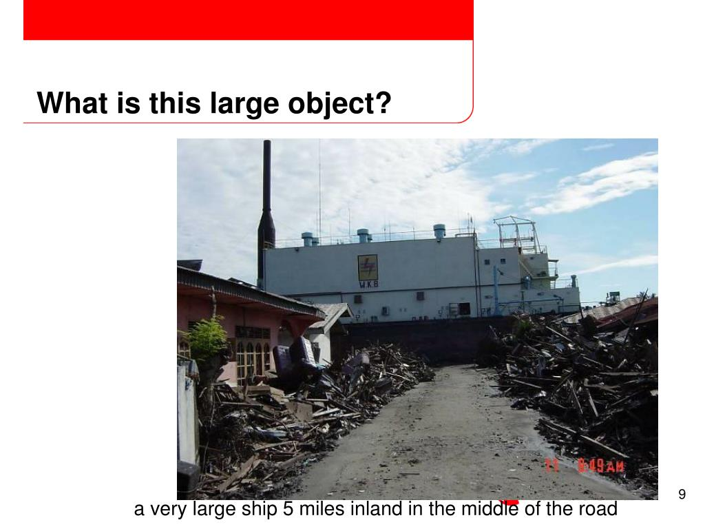 What is this large object?