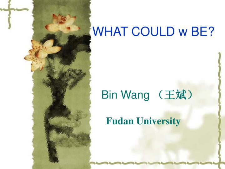 Bin wang fudan university l.jpg