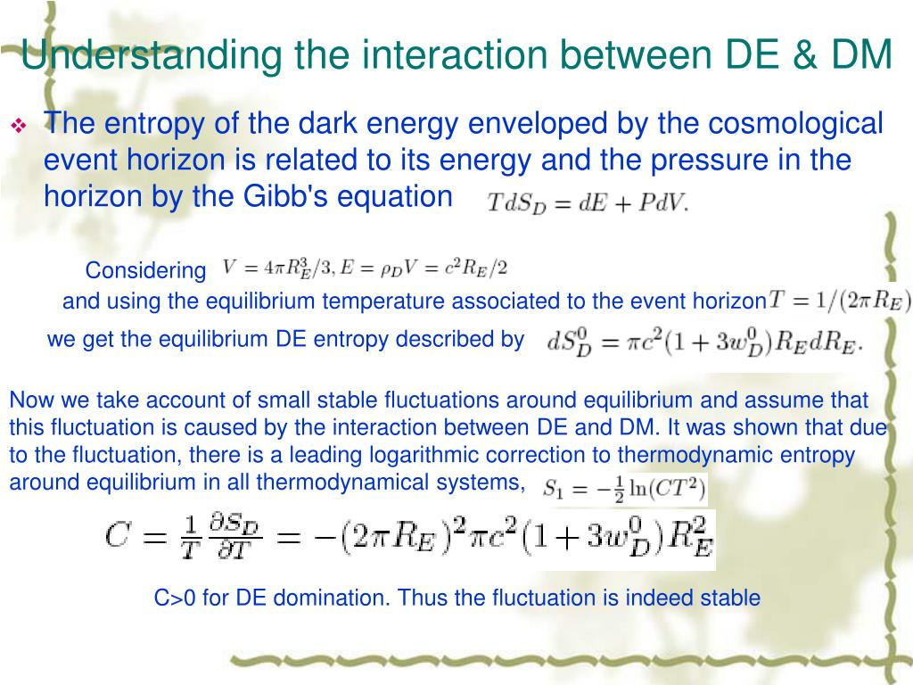 Understanding the interaction between DE & DM