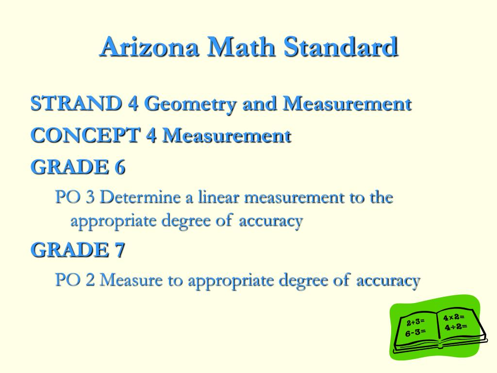 Arizona Math Standard