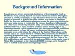 background information15