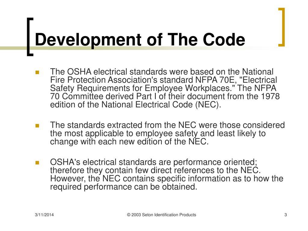 Development of The Code