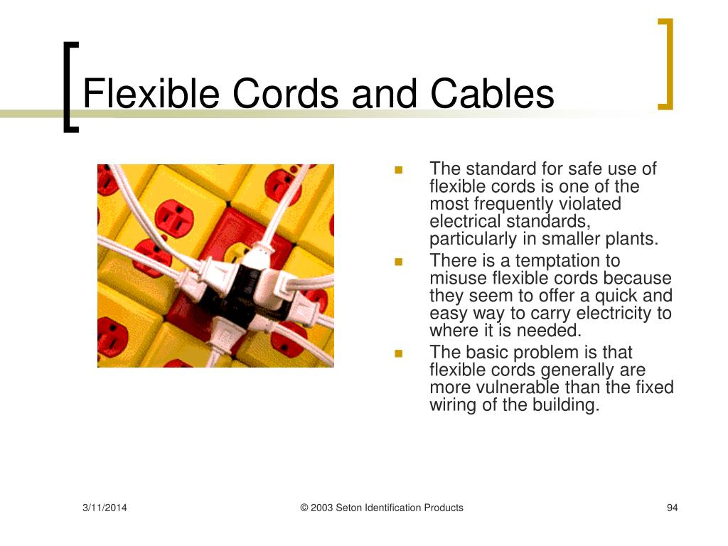Flexible Cords and Cables