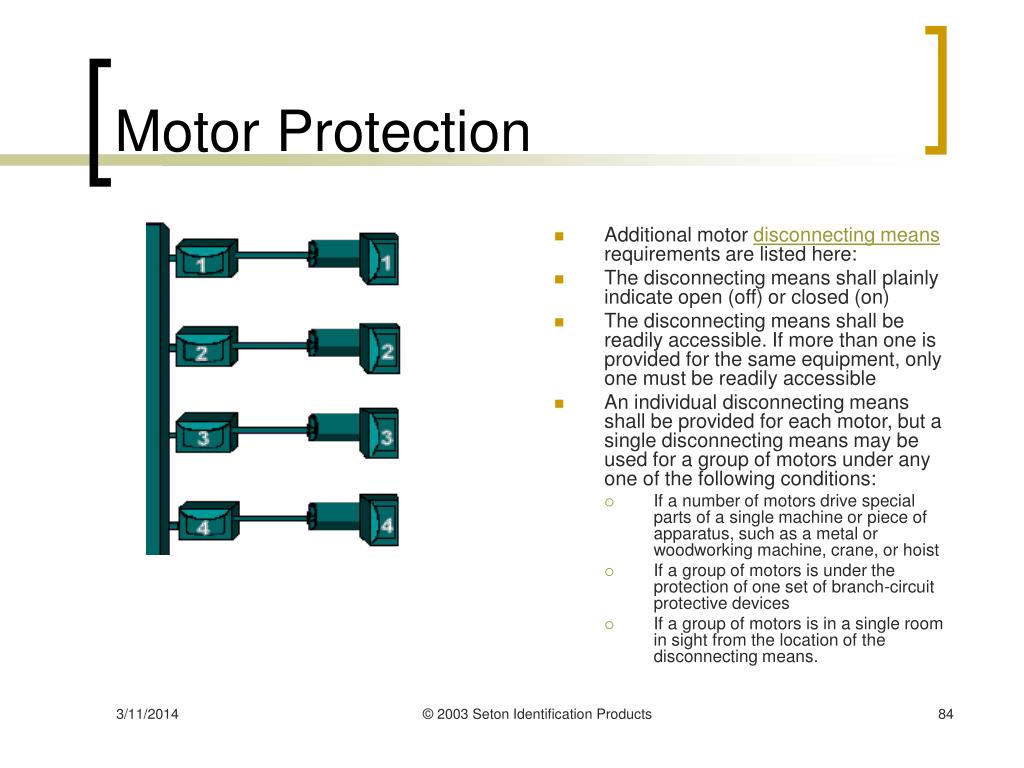 Motor Protection