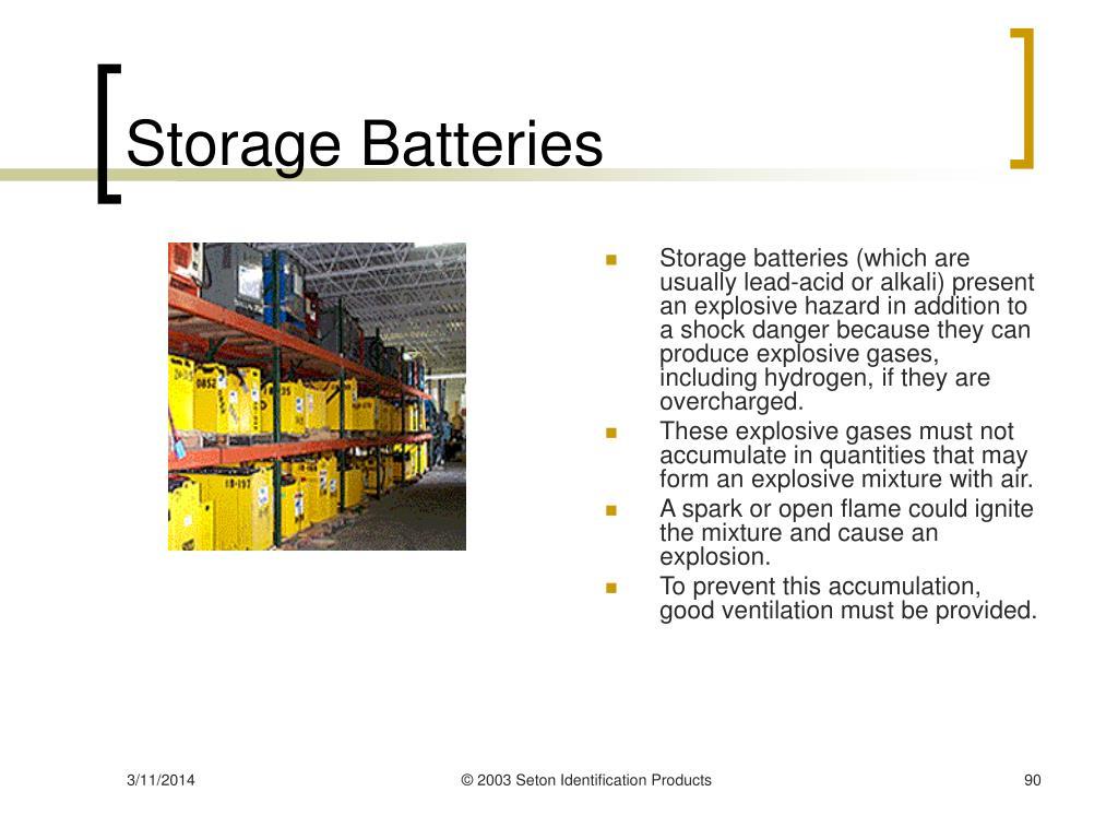 Storage Batteries