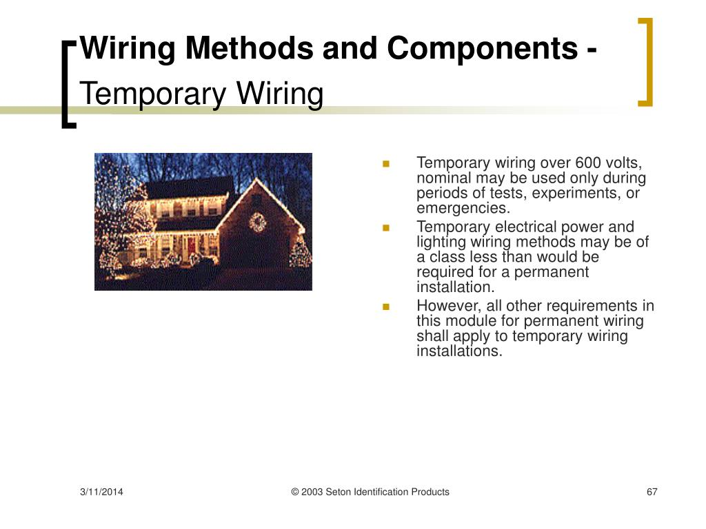 Wiring Methods and Components -