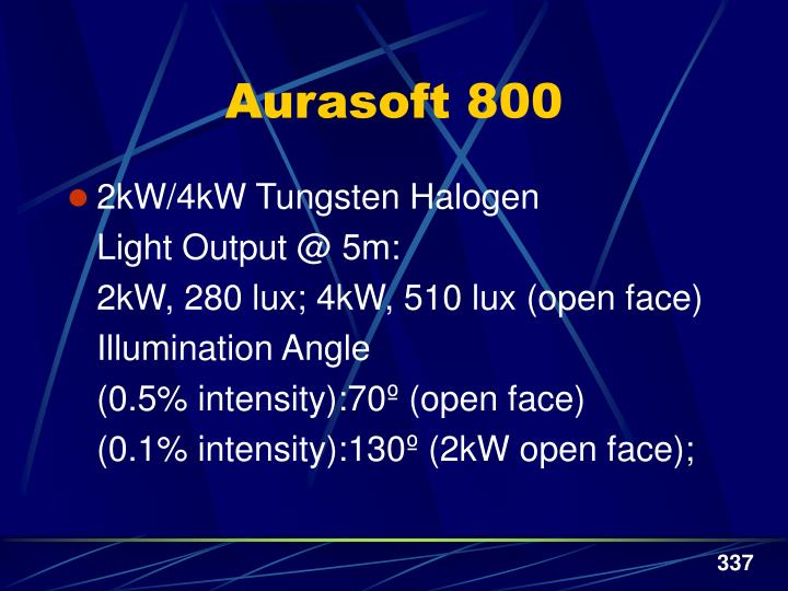 Aurasoft 800