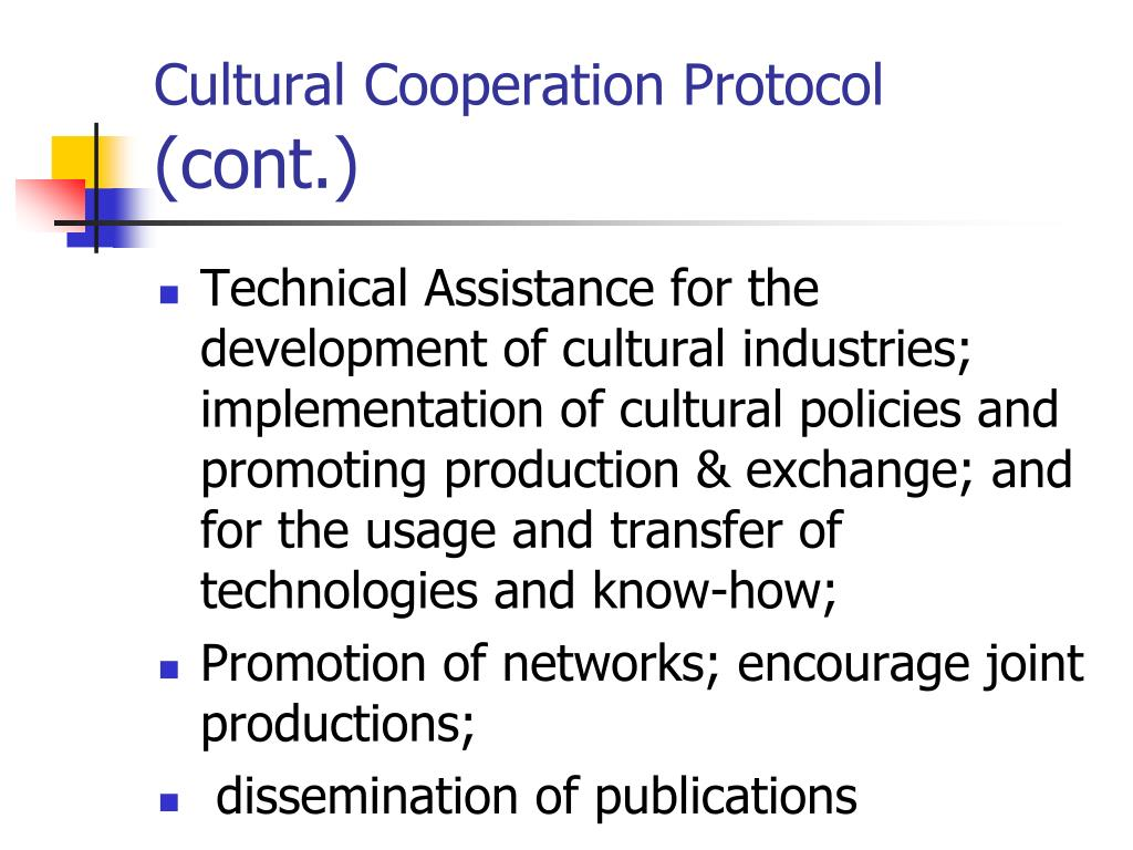 Cultural Cooperation Protocol