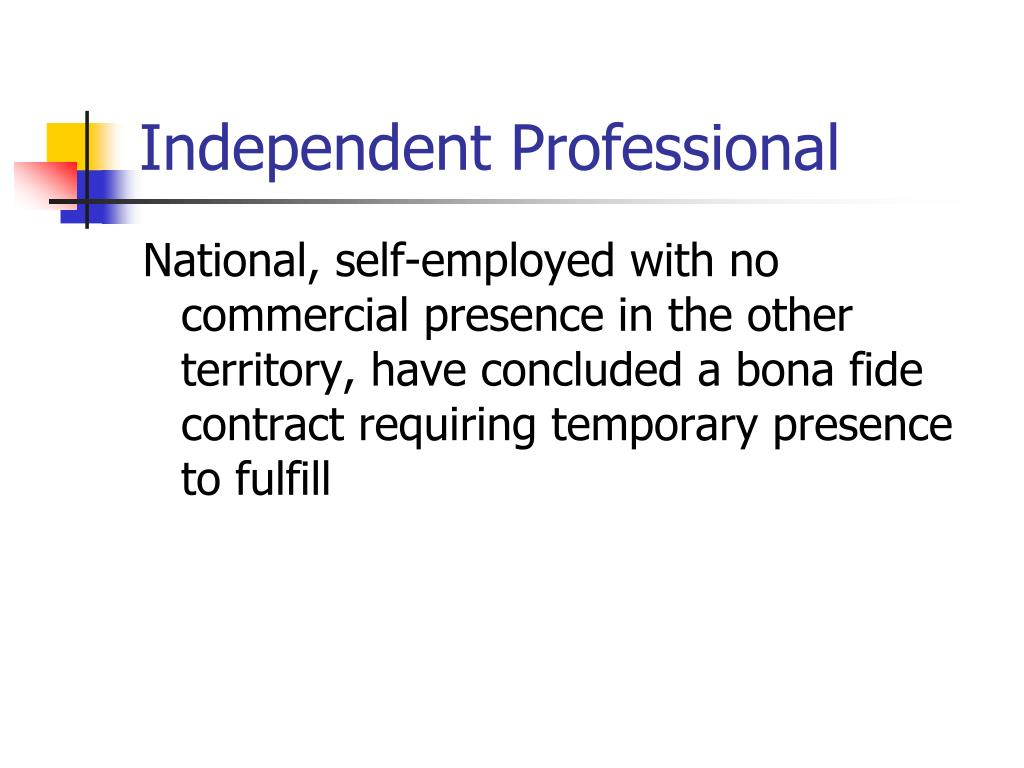 Independent Professional
