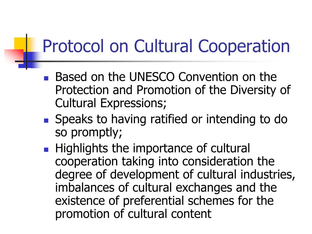 Protocol on Cultural Cooperation
