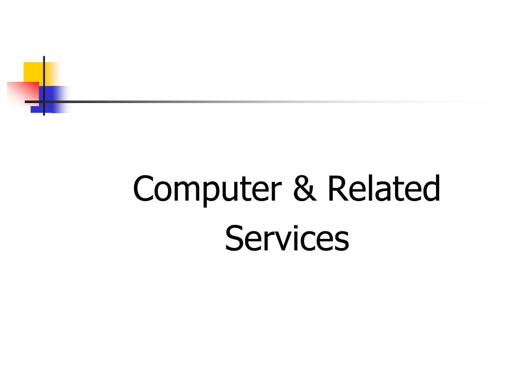 Computer & Related