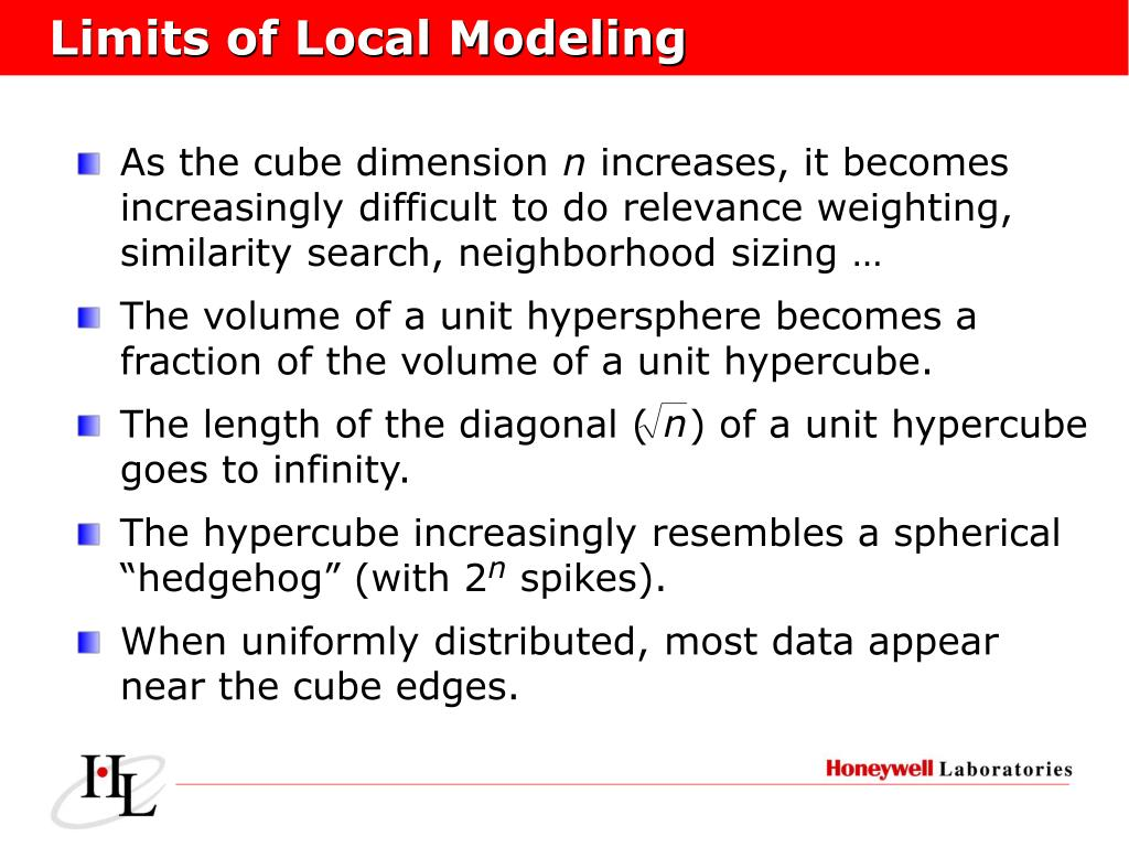 Limits of Local Modeling