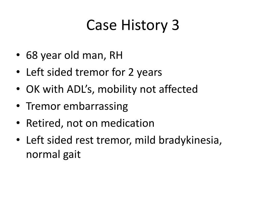 Case History 3