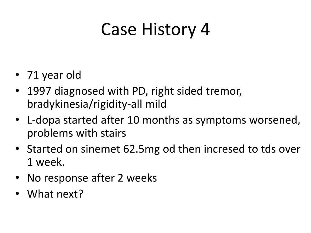 Case History 4