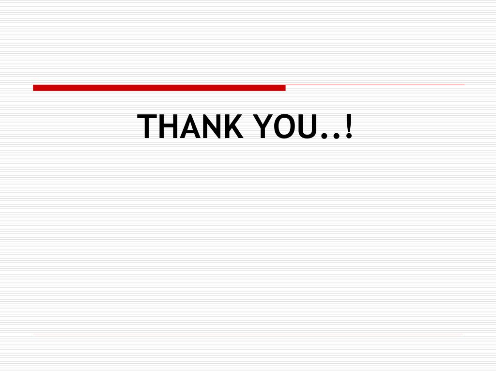 THANK YOU..!