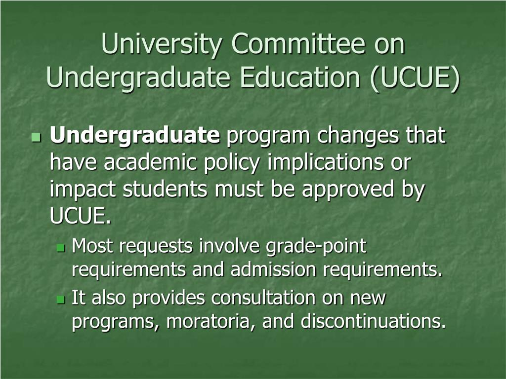 University Committee