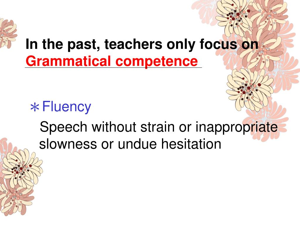 In the past, teachers only focus on