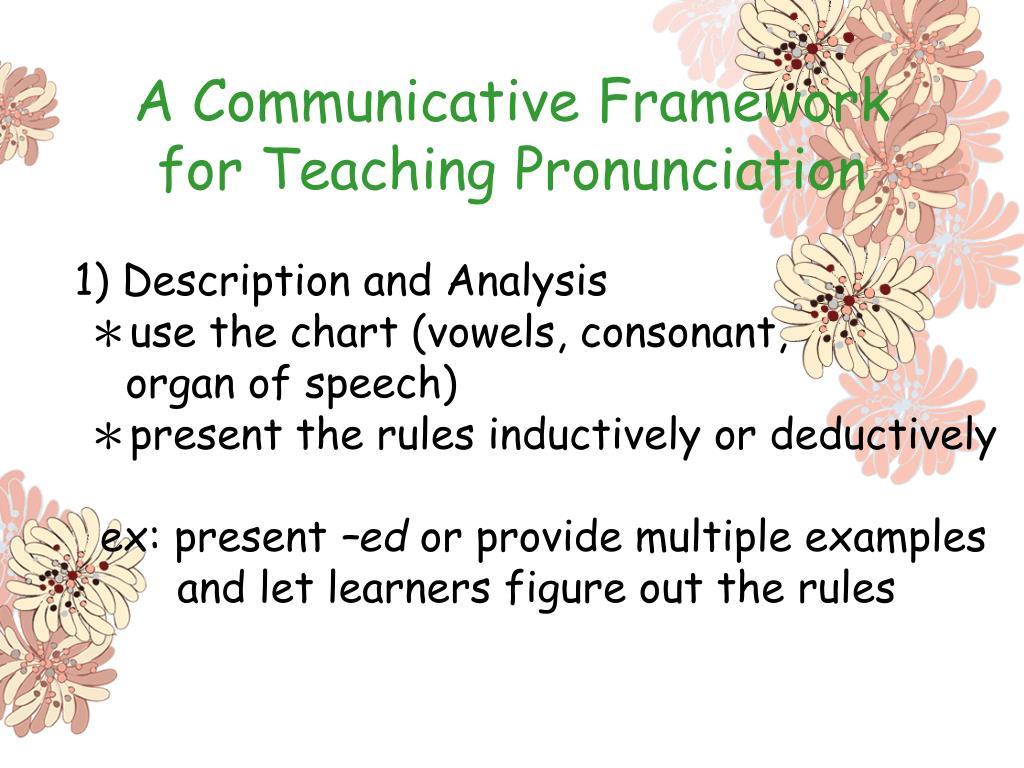 A Communicative Framework